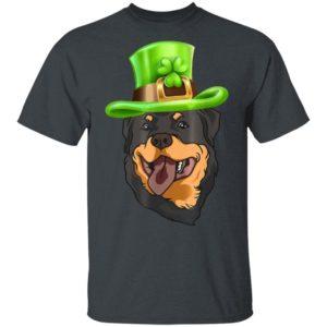Dog Cool St Patricks Day Rottweiler T-Shirt