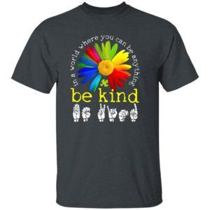 Floral Autism Awareness Kindness Daisy Flower Shirt