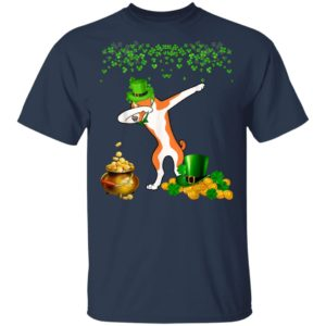 Basenji Dabbing St Patricks Day 2020 T-Shirt