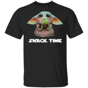 Baby Yoda Frog Snack Time Shirt