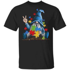 Autism Wareness Shirt - Autism Old Women Hippies Shirt