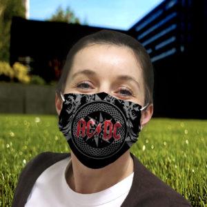 AC DC Cloth Face Mask