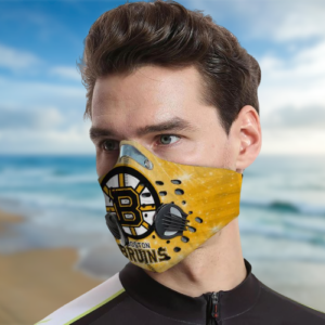 Boston Bruins Fitler Face Mask