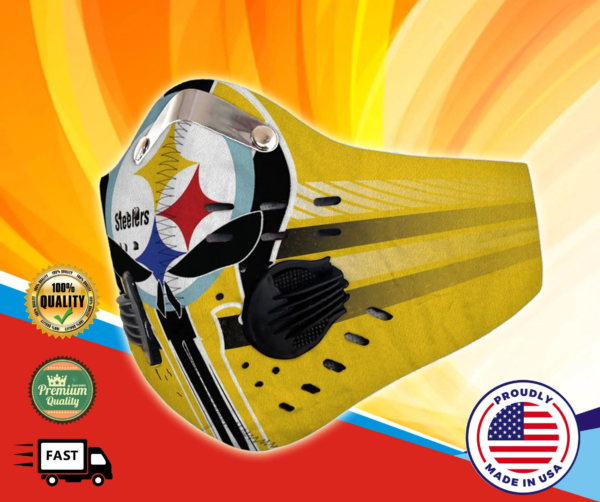 Pittsburgh Steelers Face Mask Filter PM2.5