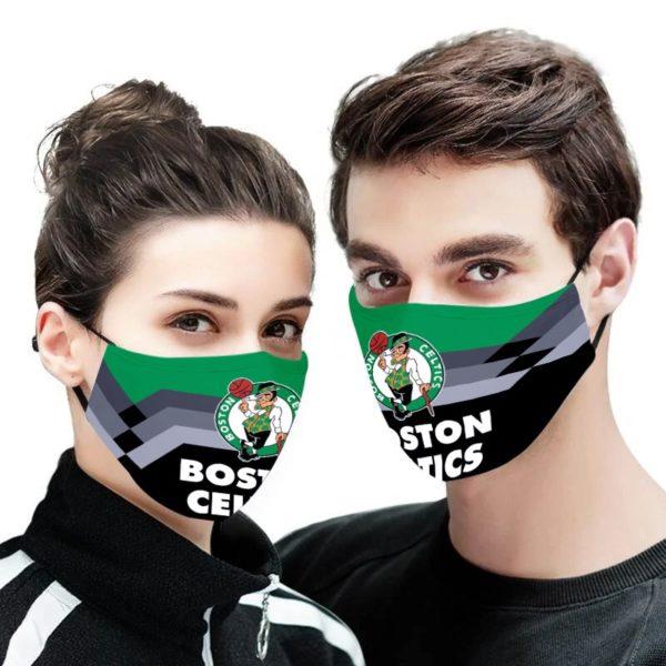 Boston Celtics NBA Face Mask