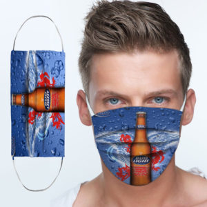 Bud Light Best Light Cloth Face Mask
