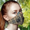 Burberry Face Mask with Filter Activated Carbon PM 2.5