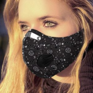Its Witchcraft Things Face Mask with Filter PM 2.5