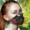 Kansas City Chiefs Face Mask with Filter Activated Carbon PM 2.5