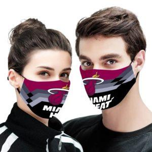 Miami Heat NBA Face Mask