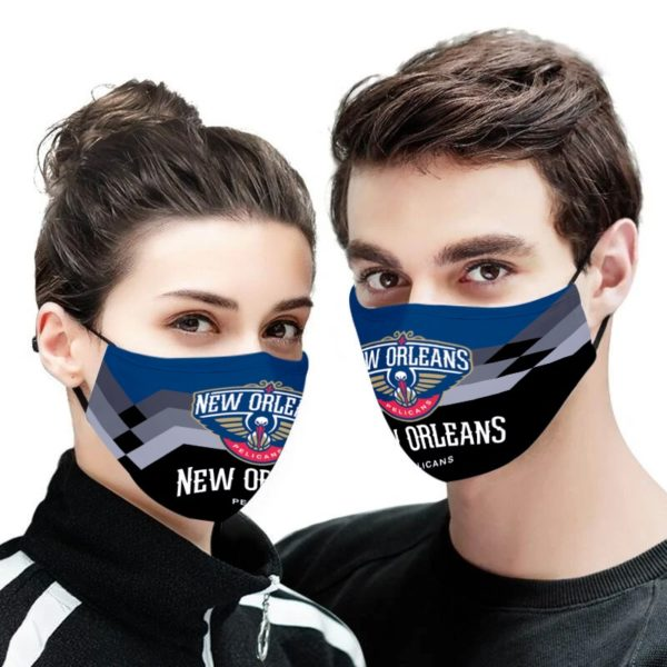 New Orleans Pelicans NBA Face Mask