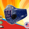 New York Giants Face Mask Filter PM2.5