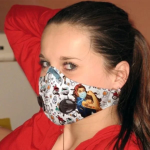 Nurse Face Mask with Filter PM 2.5