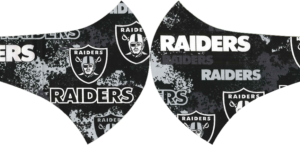 Oakland Raiders Face Mask with Filter Activated Carbon PM 2.5