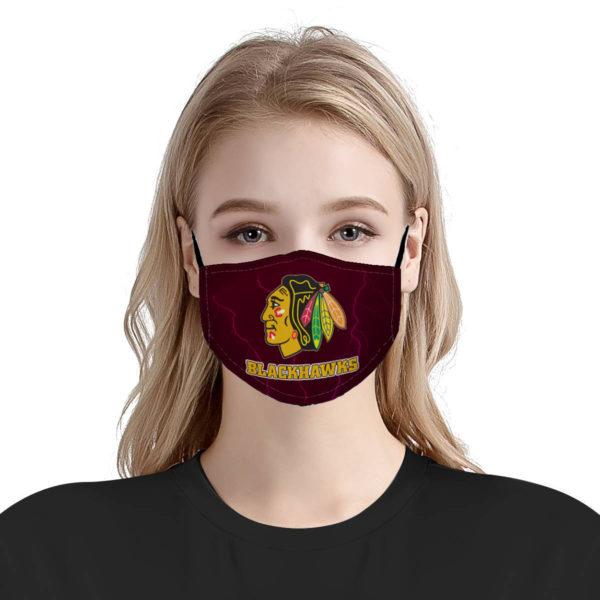 Chicago Blackhawks Face Mask