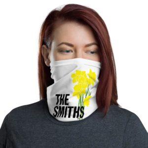 The Smiths – 1983 – Daffodils – Neck Gaiter Bandana – White