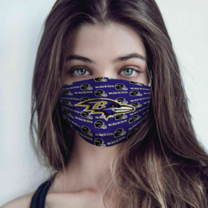 Baltimore Ravens Cotton Face Mask