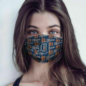 Detroit Tigers Cotton Face Mask