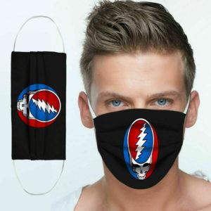Grateful Dead Cotton Face Mask