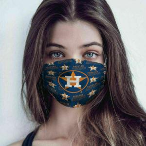 Houston Astros Face Mask Cotton
