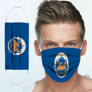 New York Mets Cloth Face Mask