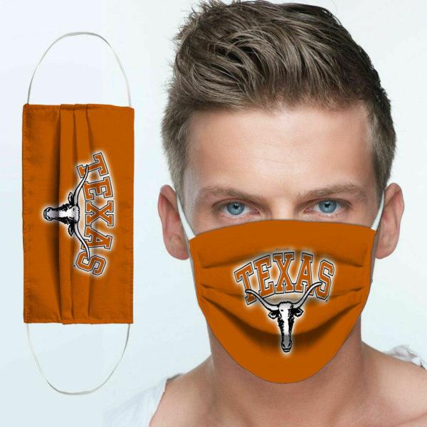 Texas Longhorns Cloth Face Mask