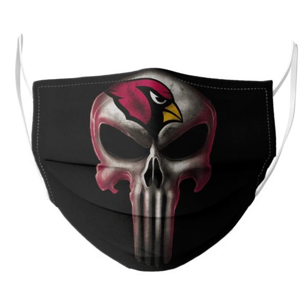 Arizona Cardinals The Punisher Mashup Football Face Mask