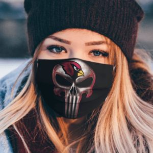 Arizona Cardinals The Punisher Mashup Football Face Mask