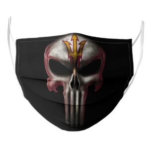Arizona State Sun Devils The Punisher Mashup NCAA Football Face Mask