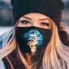 Shut The Fuck Up Fingers Tattoo Glossy Lips Carolina Panthers Face Mask