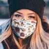 Boxer Pattern Face Mask