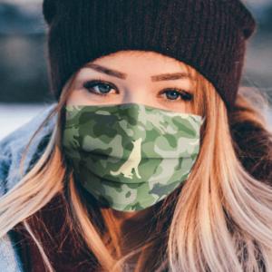 German Shepherd Face Mask