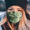 Labrador Retriever Camo Pattern Face Mask