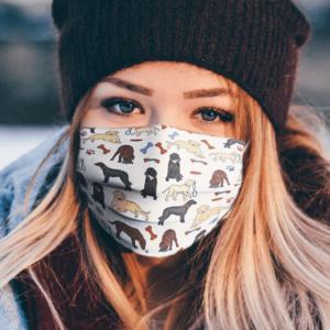 Labrador Retriever Face Mask