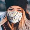 Golden Retriever Face Mask