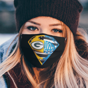 Green Bay Packers and Los Angeles Dodgers Superman Face Mask