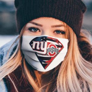 New York Giants Ohio State Buckeyes Superman Face Mask