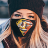 Washington Redskins and Baltimore Orioles Superman Face Mask
