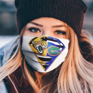 Jacksonville Jaguars Florida Gators American Flag Superman Face Mask