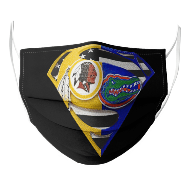Washington Redskins and Florida Gators Superman Face Mask
