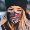 Chicago Cubs Best Dad Ever American Flag Happy Father Day Face Mask