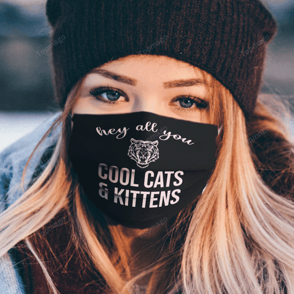 Carole-Baskin-Hey-All-You-Cool-Cats-And-Kittens-Black-Face-Mask