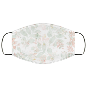 Tropical-Leaves Face Mask Washable Reusable