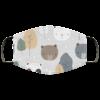 Cute Teddy Polar Panda Face Mask Washable Reusable