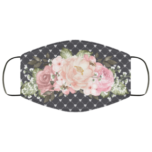 Romance-Flowers Face Mask Washable Reusable