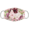 Pretty Pink Flowers Face Mask Washable Reusable