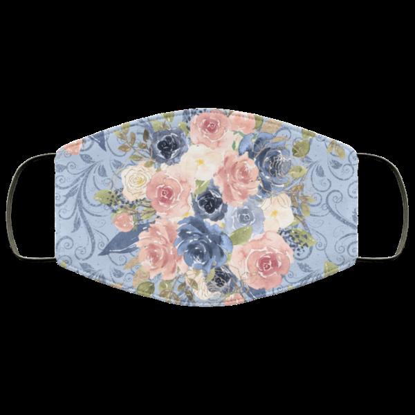 Floral Flowers Art Face Mask Washable Reusable