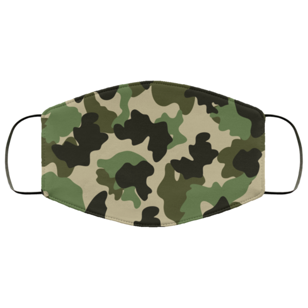 Military Camouflage Face Mask Washable Reusable