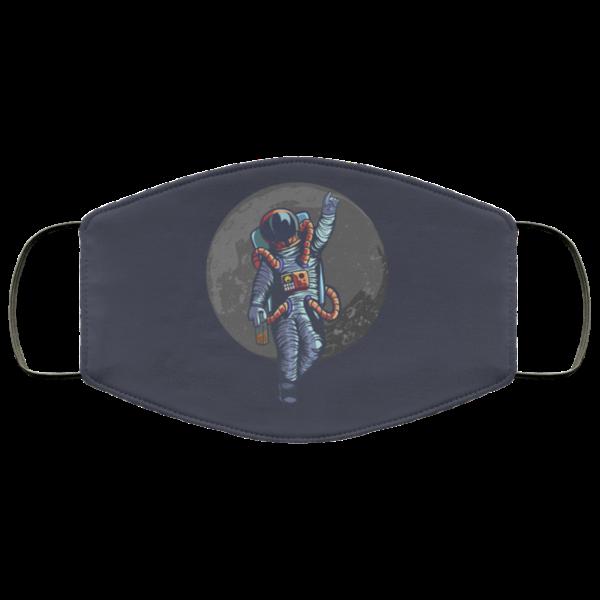 Drunk Astronaut Face Mask Washable Reusable