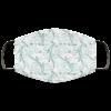 Floral Art Face Mask Washable Reusable